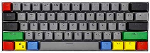 SSSLG 60% Key Cap, PBT Keycap, OEM Height 61 Keycap Matte Texture, Suitable for Mechanical Keyboard (MX Switch),Black