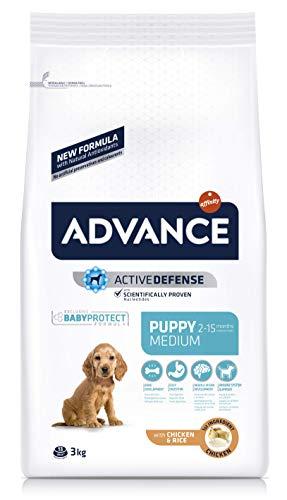 Advance Medium Puppy rico en Pollo y Arroz 3Kg