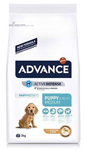 ADVANCE Medium Puppy - Pienso Para Cachorros De Razas Medianas - 3 Kg