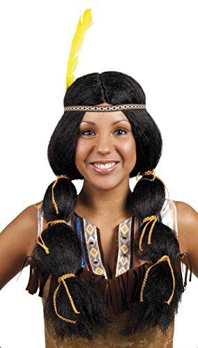 Boland 86394 pruik voor volwassenen Wynona met haarband, één maat
