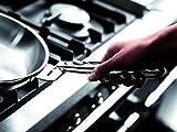 LAGOSTINA SALVASPAZIO 012135040528 Poêle 28 cm Inox Tous feux dont induction (anses et poignés vendues séparemment)