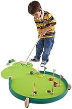"HearthSong Wonder Golf Portable Putting Green, Adjustable Skill Levels, 46"" L x 23"" W"