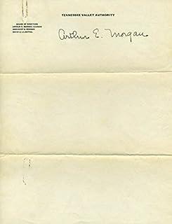 Arthur E. Morgan - Signature