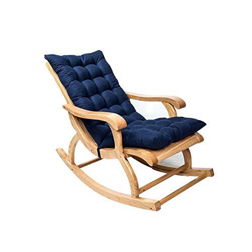 NIVNI Cojines de silla de jardín, antideslizante de ante me