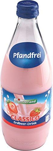 Münsterland Erdbeer Milch-Drink, 12er Pack (12 x 500 ml)