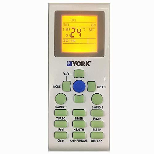York Aire Acondicionado marca Fine remote