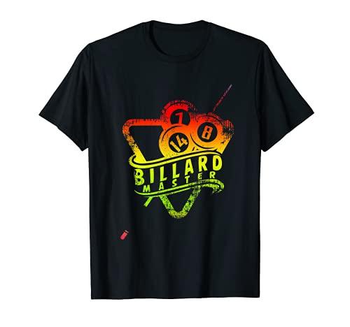 Idea de regalo para profesionales, jugadores y amantes del billar Camiseta