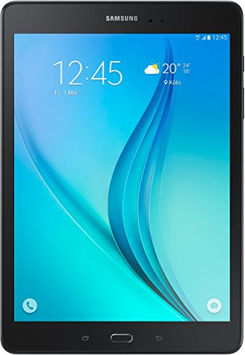 Samsung Galaxy Tab A T555N 24,6 cm (9,7 Zoll) LTE Tablet-PC (Quad-Core, 1,2 GHz, 16 GB, Android 5.0) schwarz