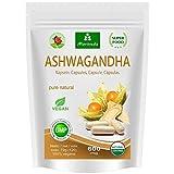 Ashwagandha cpsulas 600 mg o tabletas 1000 mg - producto natural puro en la...