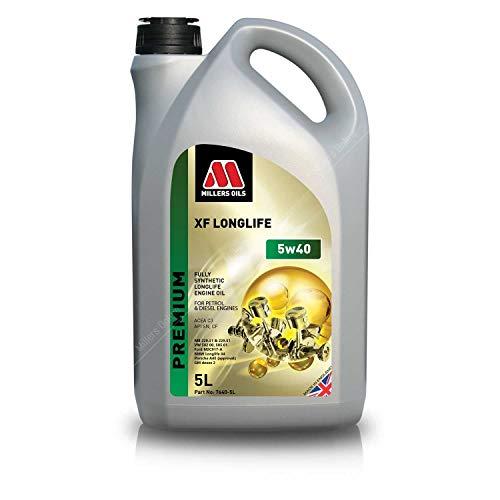 Millers Oils XF Longlife 5w40 C3 SN Dexos 2 volledig synthetische motorolie, 5 liter