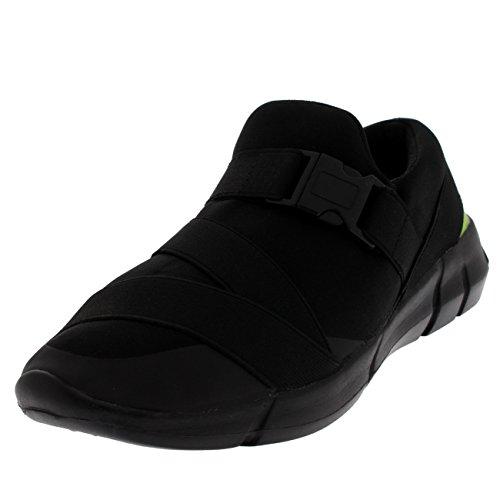 Dames gesp glippen elastisch riem lopen licht gewatteerd sport schoenen uitstrijken
