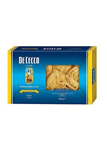10x Pasta De Cecco 100% Italienisch Fettuccine n 233 Nudeln 500g