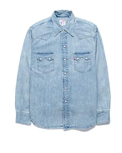 Levi Vintage Clothing Camicia Jeans Sawtooth LVC 07205-0038 Vostok 1 Blu L