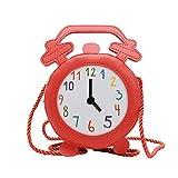 Frauen umhängetasche umhängetasche mode handtasche trend alarm eltern-kind-tasche (Rot,13cm*7cm*20cm)