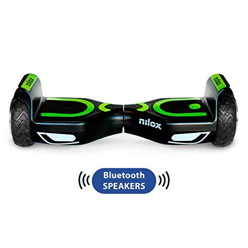 Nilox Doc 2 Hoverboard Plus, Unisex Adulto, Nero, Taglia Unica