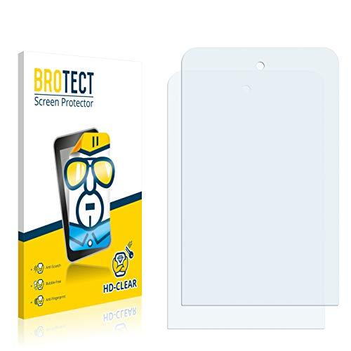 BROTECT Schutzfolie kompatibel mit Panasonic Toughpad JT-B1 (2 Stück) klare Bildschirmschutz-Folie