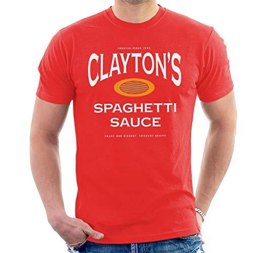 Cloud City 7 Claytons Spaghetti Sauce Se7en T-shirt voor heren