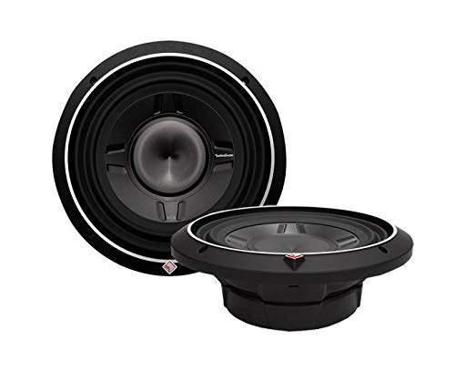 "2 ROCKFORD FOSGATE P3SD2-12 12"" 1600W Car Shallow/Slim Audio Subwoofers Subs"