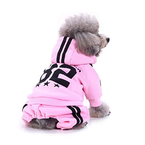 YUEBAOBEI Dog Clothes/Weihnachten Rollkragenpullover Jumper Neujahr Weihnachten Pullover, Welpe Winter Warmes Tuch Für Kleine, Mittelgroße Hunde,H,M