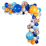 115 Pack Blueyi Theme Party Balloons Garland...