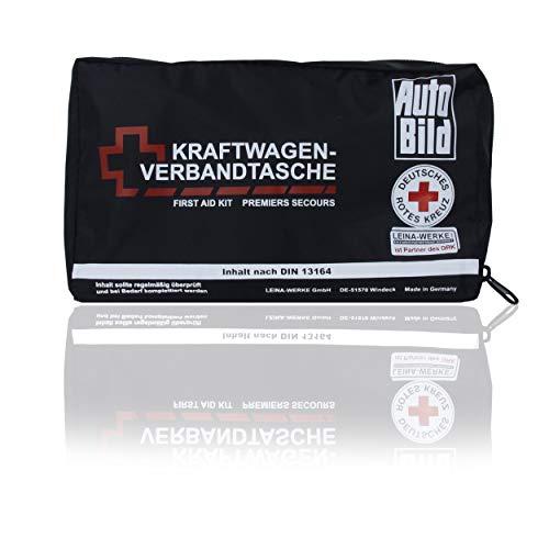 LEINA-WERKE REF 86460 KFZ Verbandstasche schwarz