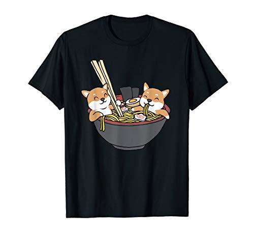 Shiba Inu Ramen TShirt Lustiges Shiba Inu Shirt