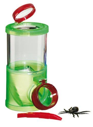 Moses 8035 8035-3-Wege Becherlupe | Lupendose mit 2, 3-und 4-facher Vergrößerung | Outdoor Spielzeug für Kinder