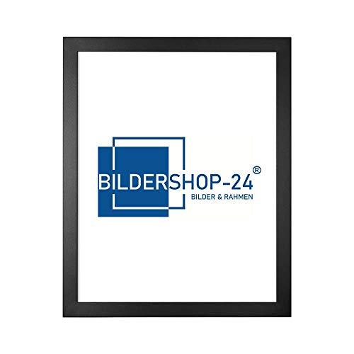 Bildershop-24 Puzzlerahmen 50x70cm Schwarz für ca. 1000 Teile