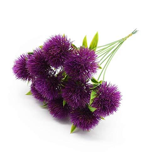 LUCHAO Künstliche Blumen Kunststoff Löwenzahn Haushaltsgegenstände dekorative Blumen, Hauptdekoration Hochzeit Braut-Accessoires künstliche Blumen (Farbe : 3)