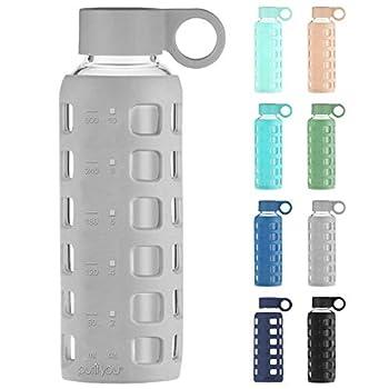 Best water bottles glass Reviews