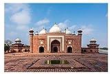 ZYHSB Jigsaw Puzzle 1000 Piezas India-Taj Mahal Carteles para Madera Juguetes para Adultos Juego De Descompresión Ty238Nj