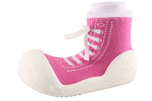 Attipas , {Chaussures premiers pas pour bébé (garçon) Violet violet 21.5 - Violet - violet, 21.5 EU