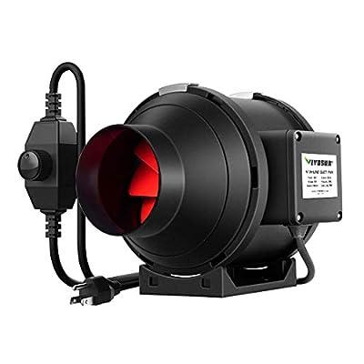 VIVOSUN Inline Duct Ventilation Fan with Speed Controller