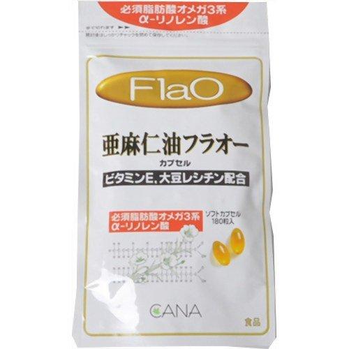 キャナ 亜麻仁油フラオー カプセル 350mg×180粒