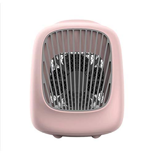 Qinmo Aire acondicionado portátil de ventilador, refrigerador de aire purificador del humectador, Zona Personal Mini USB de refrigeración nebulización ventilador del escritorio, for la seguridad del d