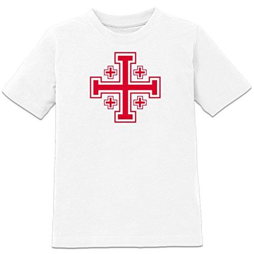 Shirtcity Jerusalemkreuz Kinder T-Shirt by