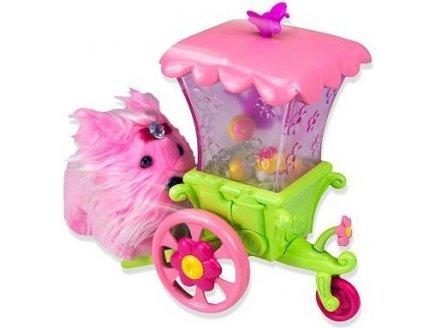 GIOCHI Zhu zhu puppies - chariot a fleurs - vehicule de jeu preziosi - 81163