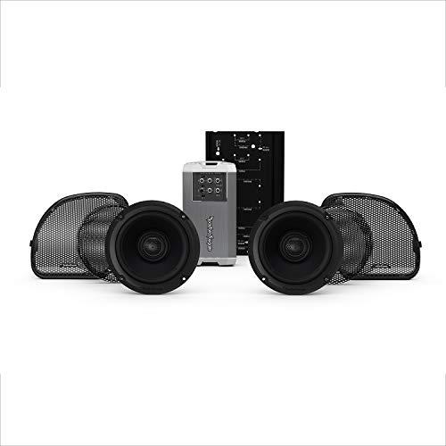 Rockford Fosgate HD14RGSG-STAGE2 Two Speakers & Amplifier Kit for 2014+ Harley-Davidson Road Glide & Street Glide