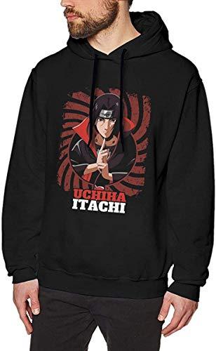 SYEA Anime Naruto Itachi Uchiha - Sudadera de manga larga para hombre