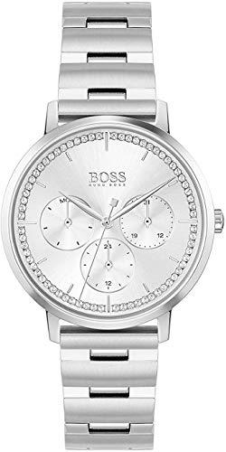 Hugo BOSS Reloj Analógico para Mujer de Cuarzo con Correa en Acero Inoxidable 1502570