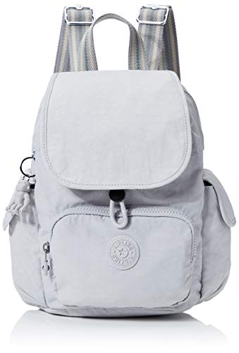 Kipling Damen City Pack Mini Rucksack, Grau (Curiosity Grey), 27x29x14 Centimeters