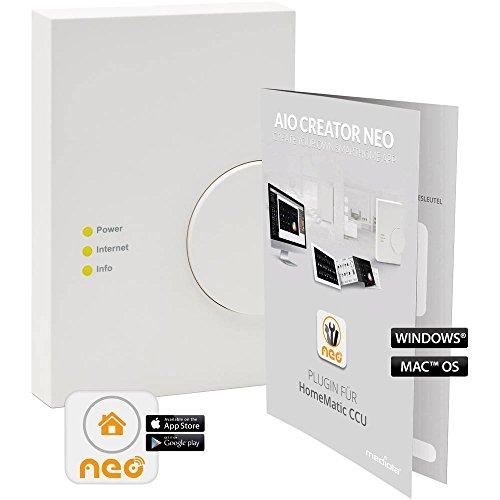 Preisvergleich Produktbild mediola Zusatzsoftware AIO Creator NEO HomeMatic CCU SUM-4101-b
