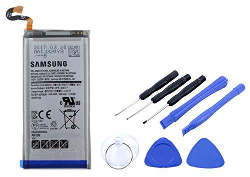 2in1-SET Akku für Samsung Galaxy S8 | Li-Ion Ersatzakku mit 3000mAh inklusive Werkzeug Set