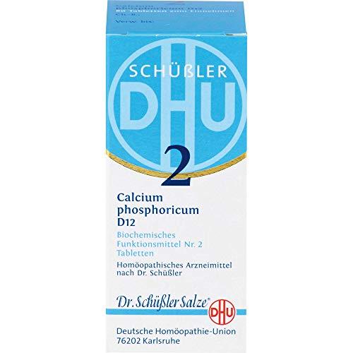 DHU Schüßler-Salz Nr. 2 Calcium phosphoricum D12 Tabletten, 80 St. Tabletten