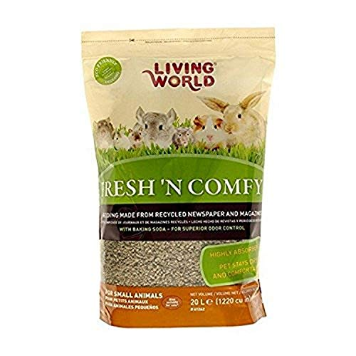 Living World Fresh'n Comfy Bedding, 20-Liter, Tan