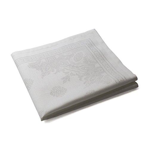 Tradition des Vosges Serviette Table Florence 47 x 47 cm Blanc