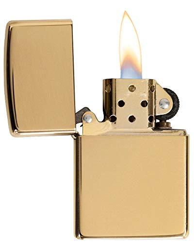 Zippo Armor High Polish Brass Pocket Lighter