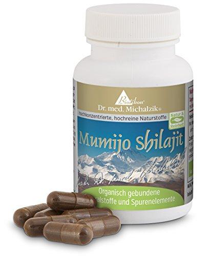 """Mumijo Shilajit, \""""Huminsäure\"""" und Fulvinsäure aus dem Himalaya - nach Dr. med. Michalzik - ohne Zusatzstoffe - von BIOTIKON®"""