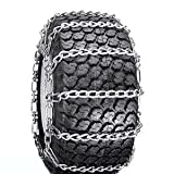 SUNBELT OUTDOOR PRODUCTS ATV, Snow Blower Thrower Snow Tire Chains 2 Link (20 x 10 x 8, 20 x 10 x 10)