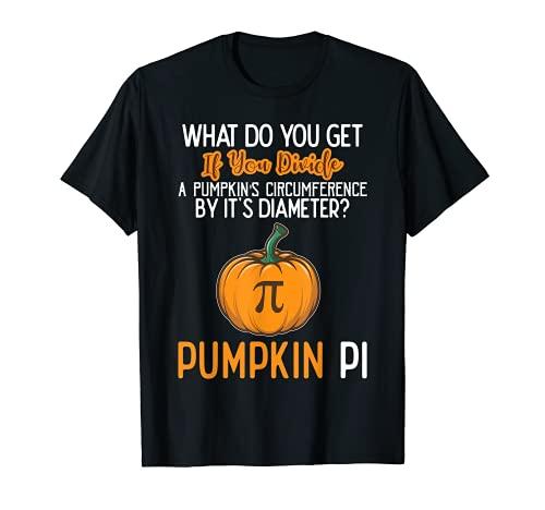 Pumpkin Pi Math Teacher T-Shirt